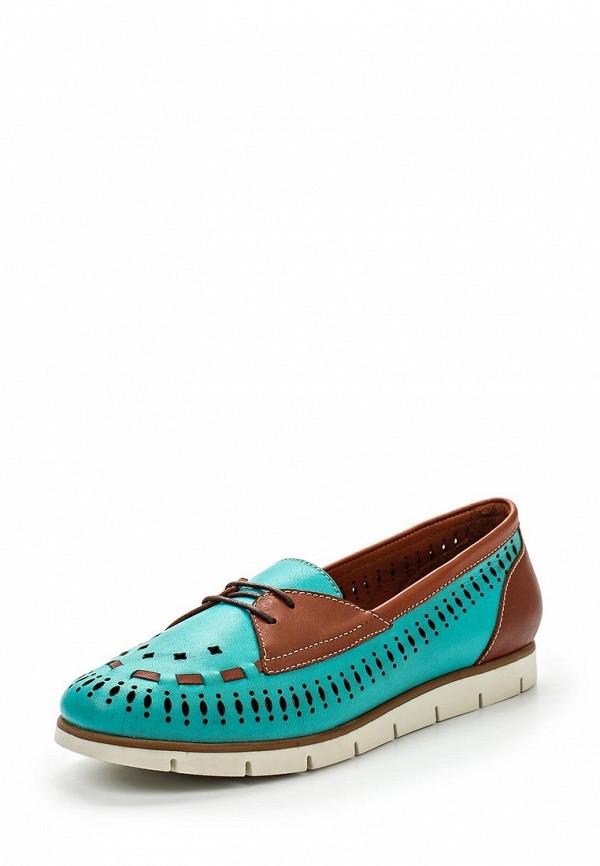 Туфли на плоской подошве Benta 23516-72: изображение 1