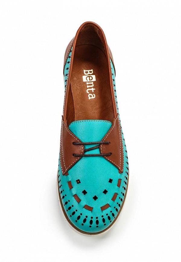 Туфли на плоской подошве Benta 23516-72: изображение 4