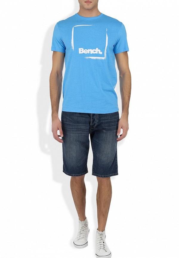 Футболка с надписями Bench 170.BMGA2960..BL152: изображение 5