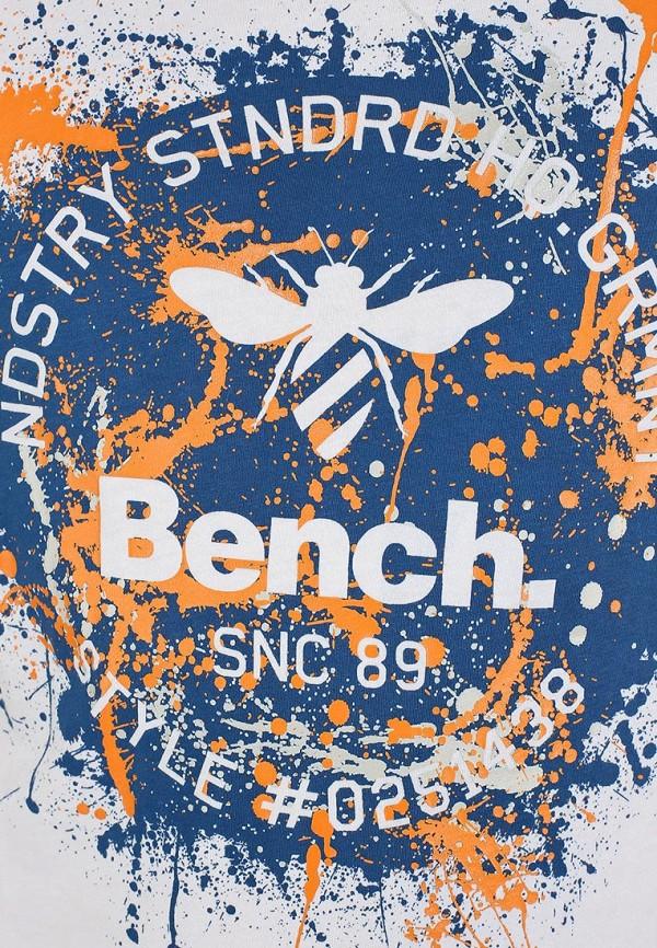 Футболка с надписями Bench 170.BMGA3300..WH001: изображение 4