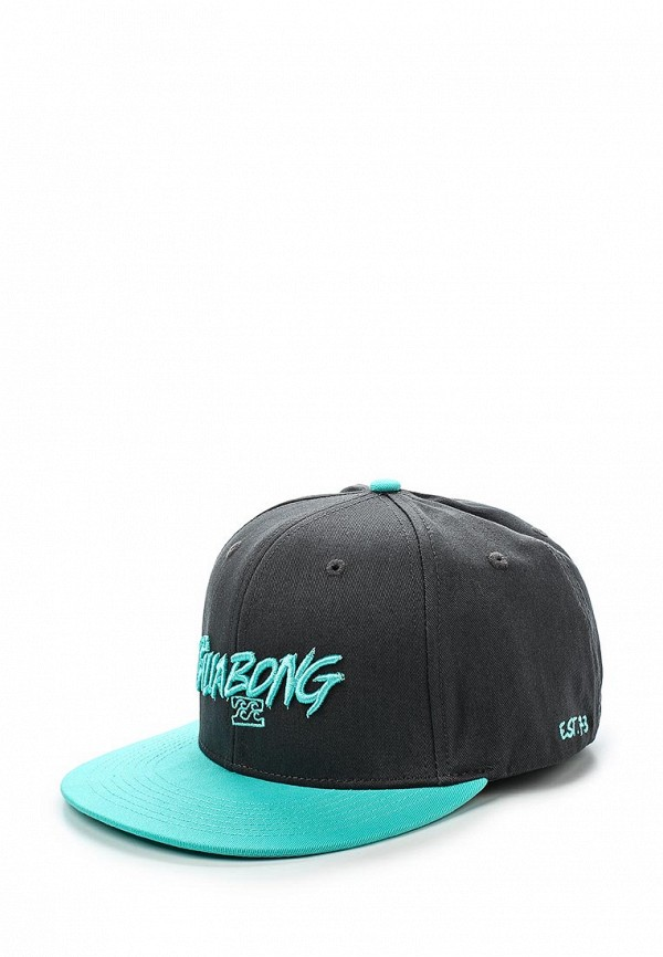 Бейсболка (HEADWEAR) BLOODY CAP M серый Billabong