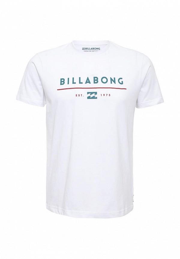 Футболка с надписями Billabong W1SS01: изображение 1