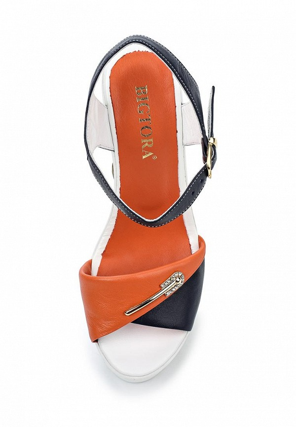 Босоножки на каблуке Bigtora 30-08-27: изображение 4
