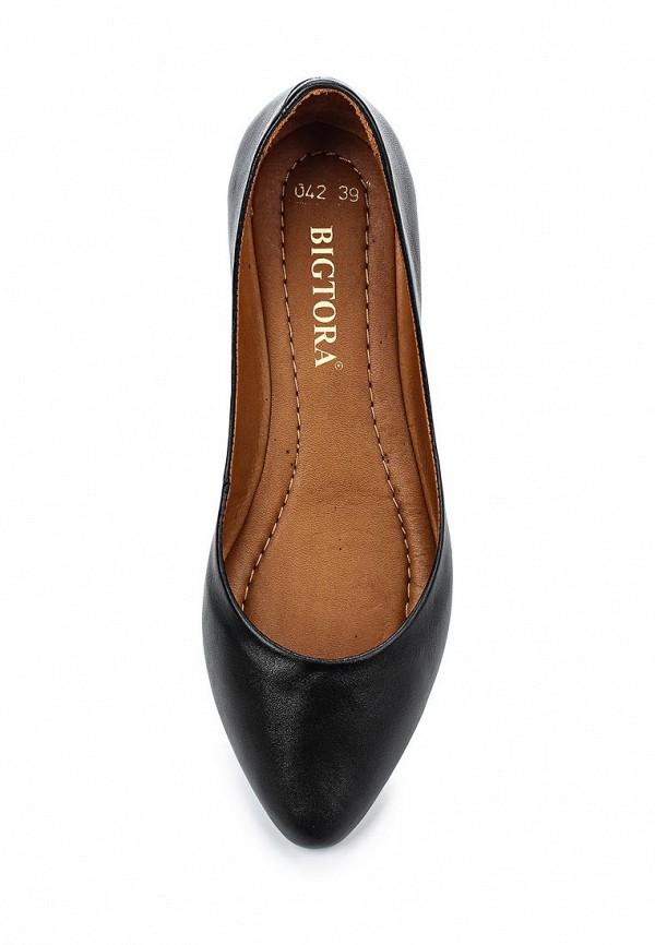 Туфли на плоской подошве Bigtora 042-09: изображение 4