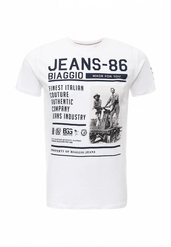 Футболка с надписями Biaggio SU34BGG00004