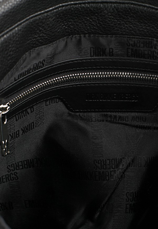 Кожаная сумка Bikkembergs DBASH016.0101: изображение 2