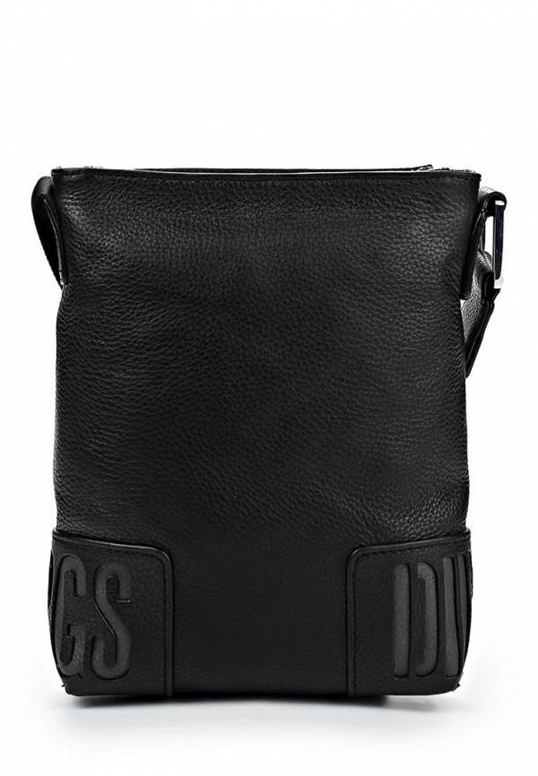 Кожаная сумка Bikkembergs DBASH018.0101: изображение 1