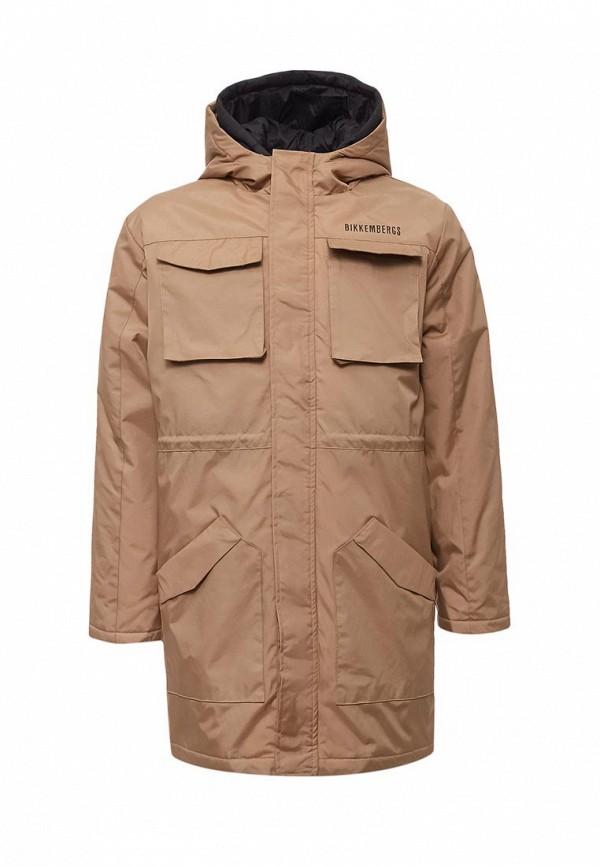 Купить Куртка утепленная Bikkembergs, BI535EBWDD41, бежевый, Осень-зима 2017/2018