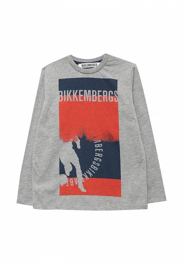 Лонгслив Bikkembergs Bikkembergs BI535EBWDD60 пуховик bikkembergs bikkembergs bi535ewfuo39