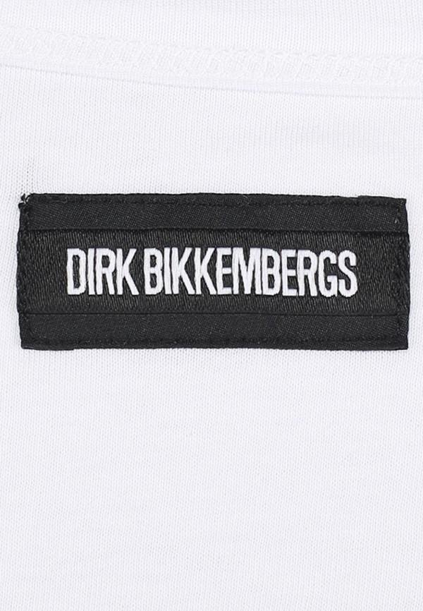 Футболка с надписями Bikkembergs D1DB7320877W800: изображение 4