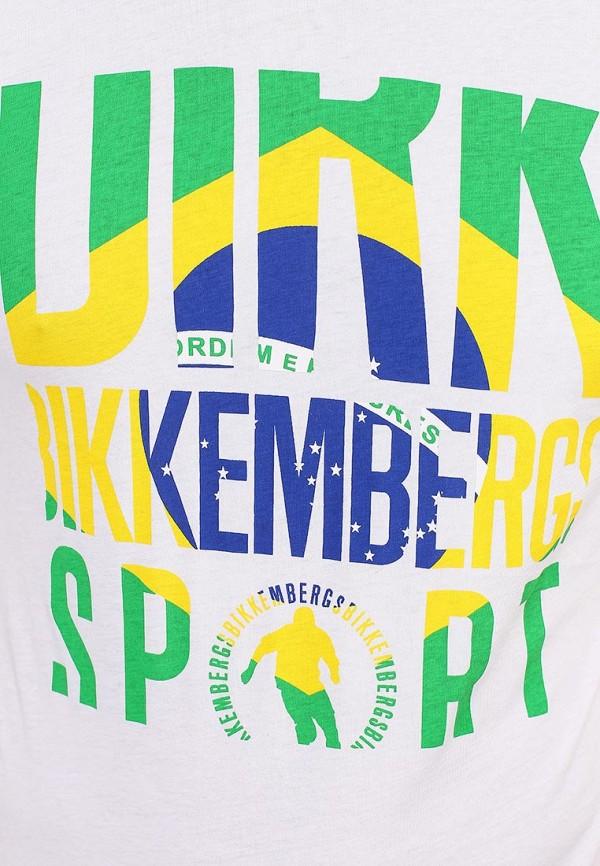 Футболка с надписями Bikkembergs D1DB7320877W800: изображение 12