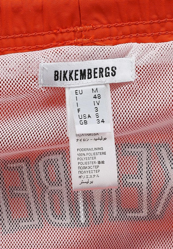 Мужские шорты Bikkembergs D1B6L1KP2926100: изображение 4