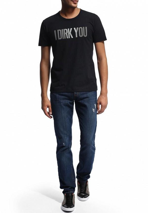Мужские прямые джинсы Bikkembergs D2DB162CF35W555: изображение 5