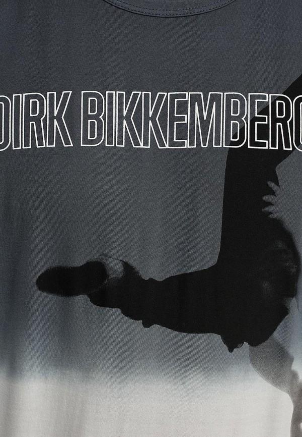 Футболка с надписями Bikkembergs D2DB7500186W999: изображение 11