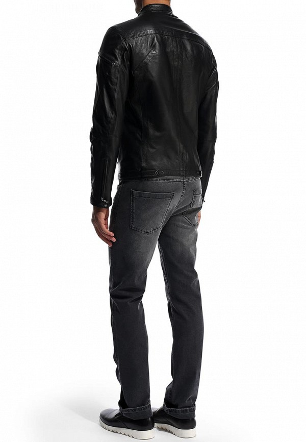 Кожаная куртка Bikkembergs D2DB9029004W999: изображение 4