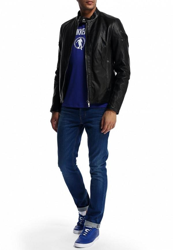 Кожаная куртка Bikkembergs D2DB9029004W999: изображение 5