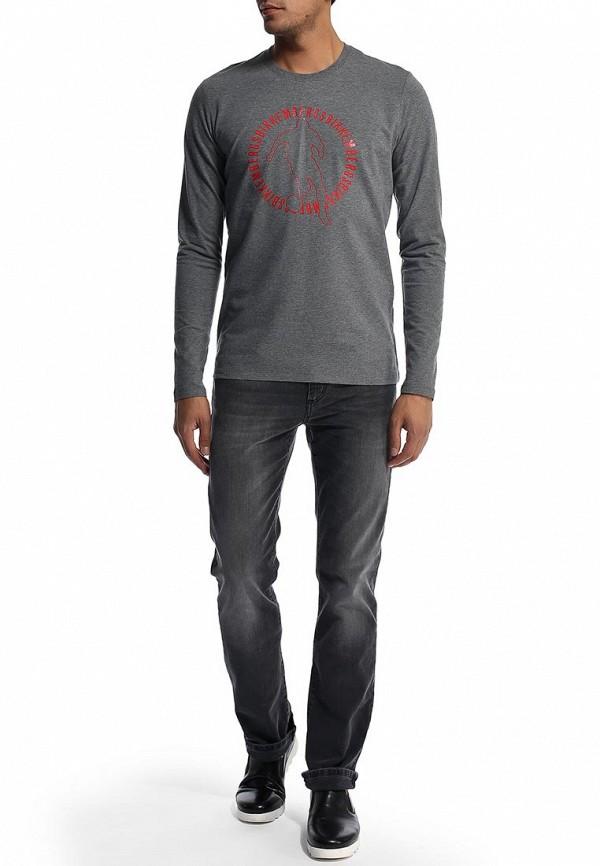 Мужские прямые джинсы Bikkembergs D2DB163GS23W701: изображение 3