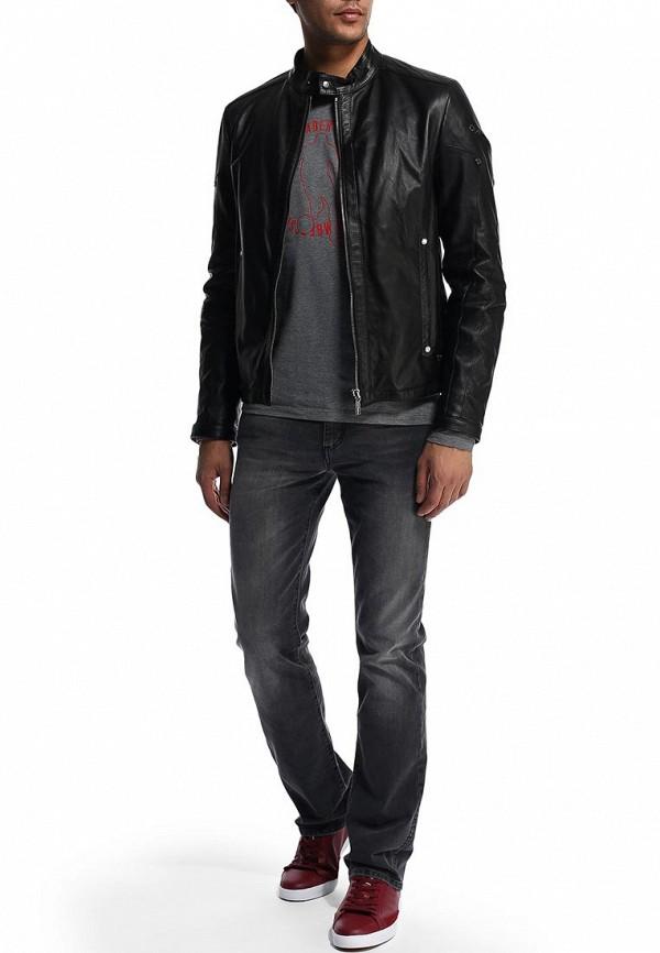 Мужские прямые джинсы Bikkembergs D2DB163GS23W701: изображение 5