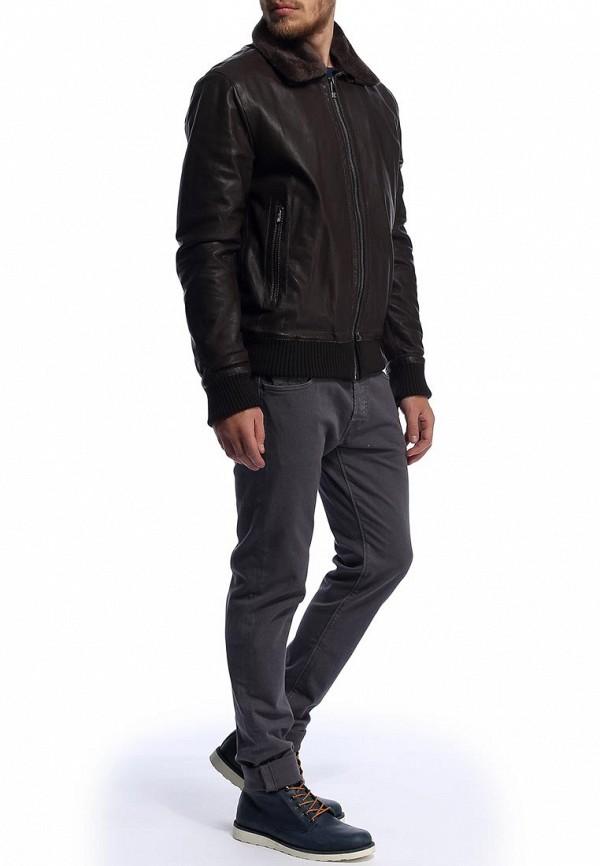 Кожаная куртка Bikkembergs D2DB9329010W682: изображение 3