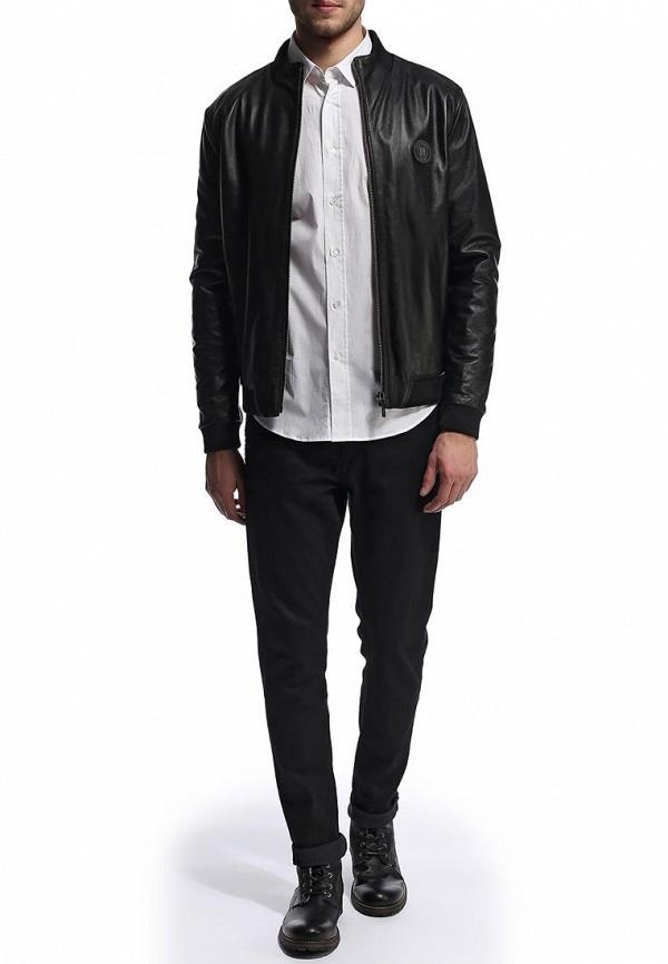 Кожаная куртка Bikkembergs D2DB9039004A999: изображение 3