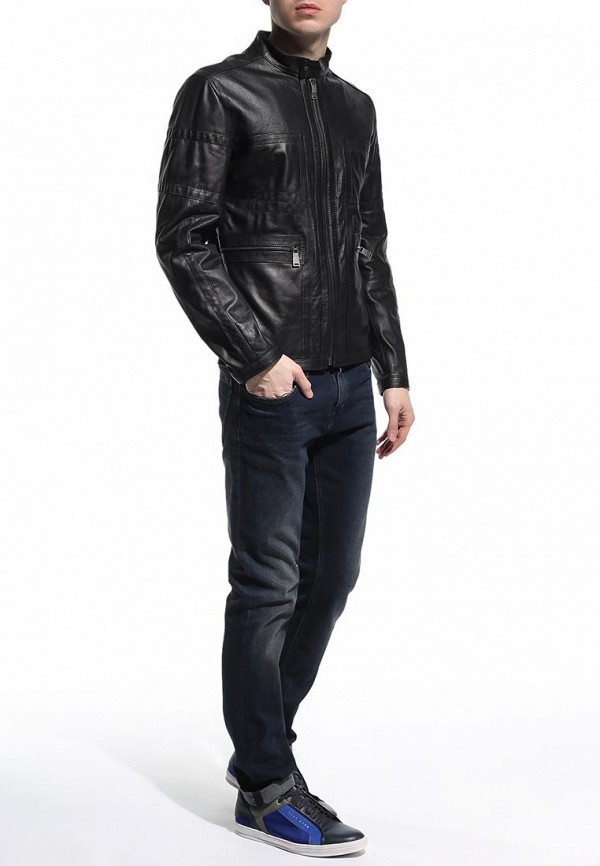 Кожаная куртка Bikkembergs C H 04B E1 B 9036: изображение 3