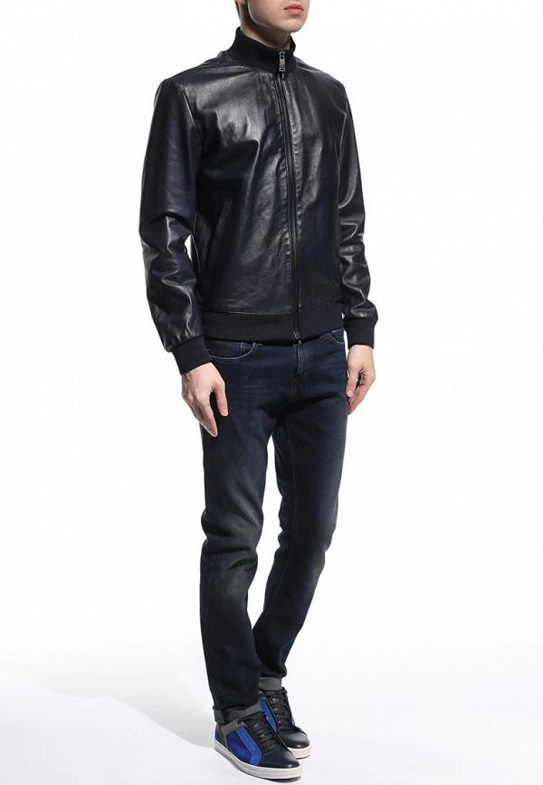 Кожаная куртка Bikkembergs C H 07B E1 B 9036: изображение 3