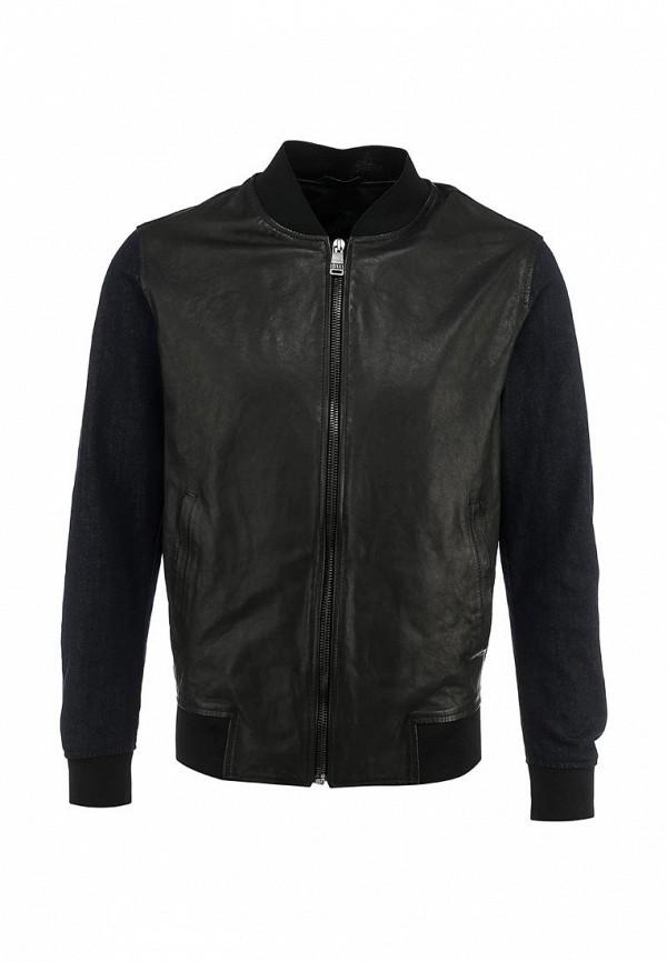 Кожаная куртка Bikkembergs C H 05Z E1 B 9035: изображение 1