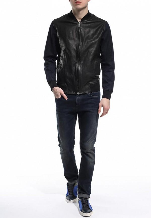 Кожаная куртка Bikkembergs C H 05Z E1 B 9035: изображение 3