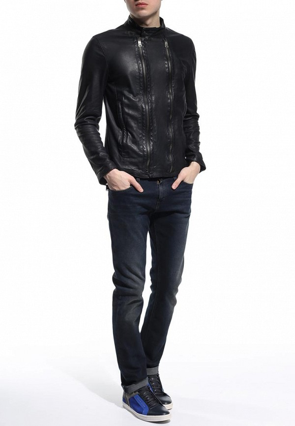 Кожаная куртка Bikkembergs C H 03B E1 B 9037: изображение 2