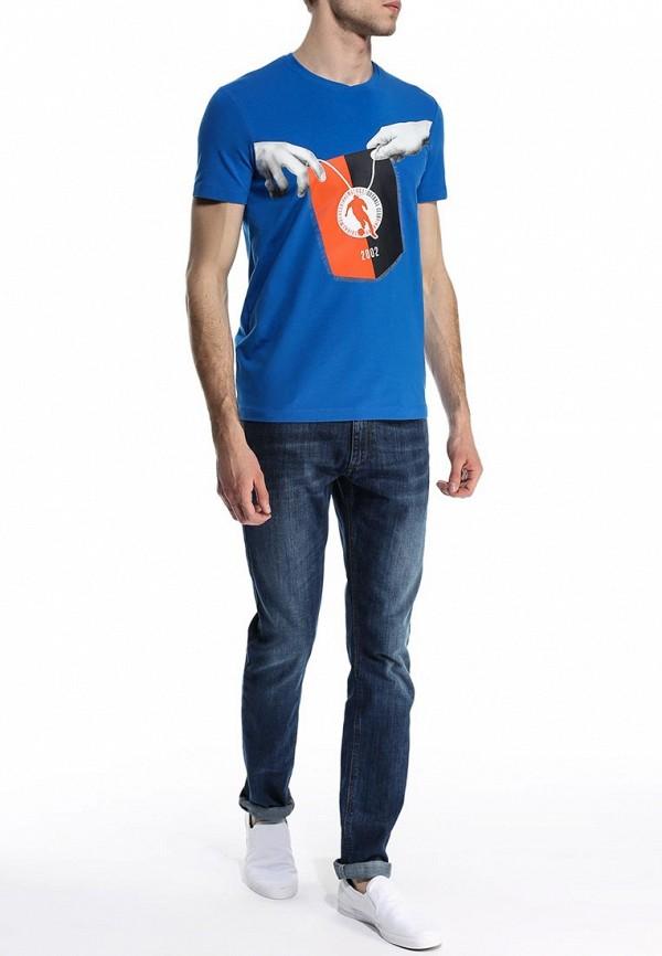 Футболка с коротким рукавом Bikkembergs C 4 24B E1 B 0393: изображение 3