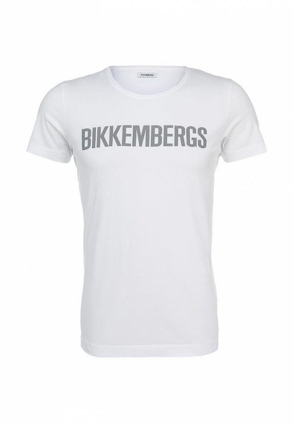 Футболка с надписями Bikkembergs C 4 00B E1 B 0127: изображение 1