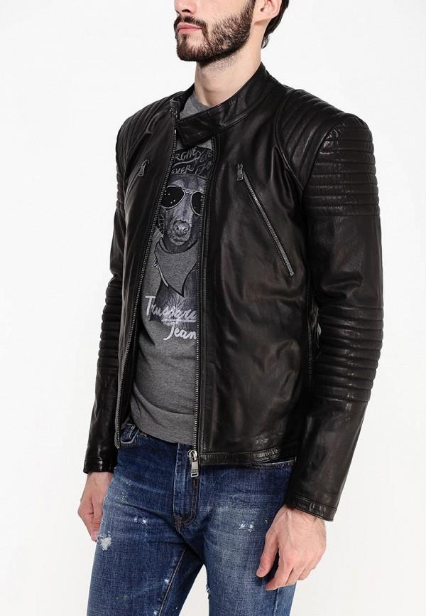 Кожаная куртка Bikkembergs C H 90B E2 D B010: изображение 2