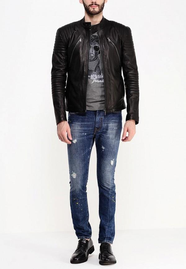 Кожаная куртка Bikkembergs C H 90B E2 D B010: изображение 3