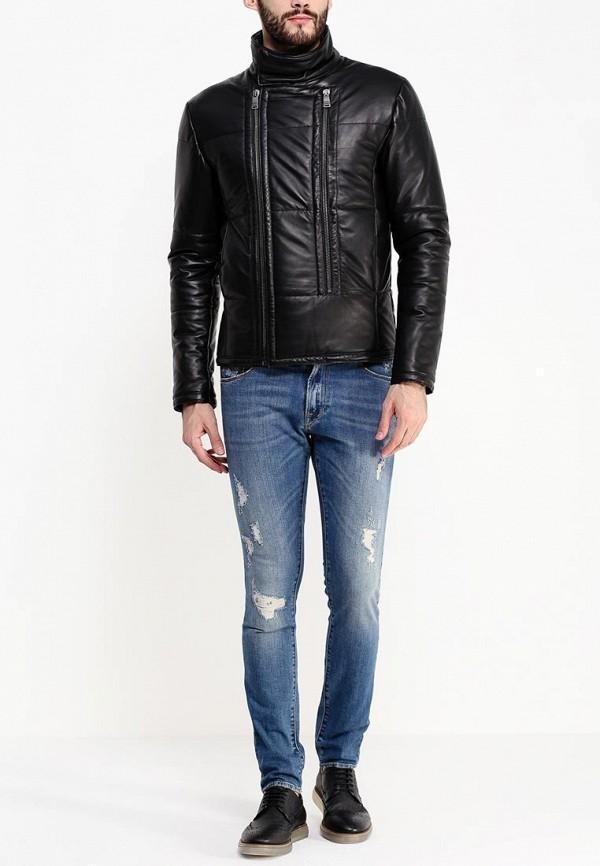 Кожаная куртка Bikkembergs C H 94B E2 D B012: изображение 3