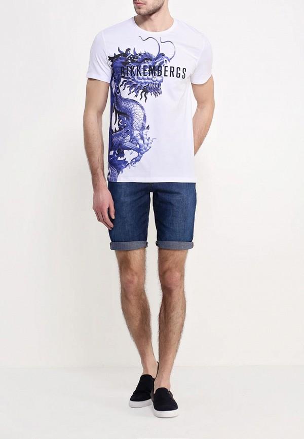Мужские повседневные шорты Bikkembergs C Q 08B FD S B106: изображение 2