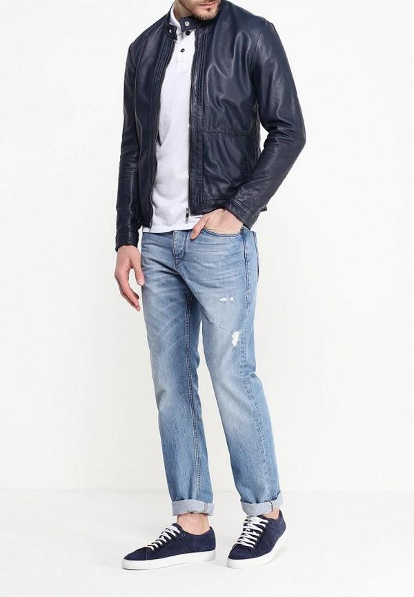 Кожаная куртка Bikkembergs C H 61B FD D B028: изображение 3