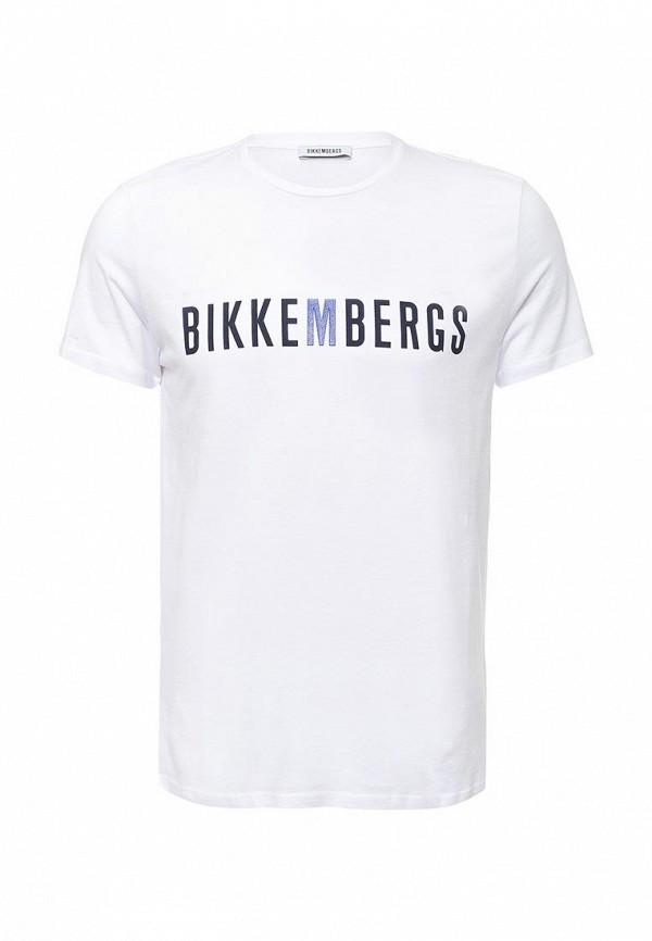Футболка с надписями Bikkembergs C 7 01S FD M B059: изображение 1