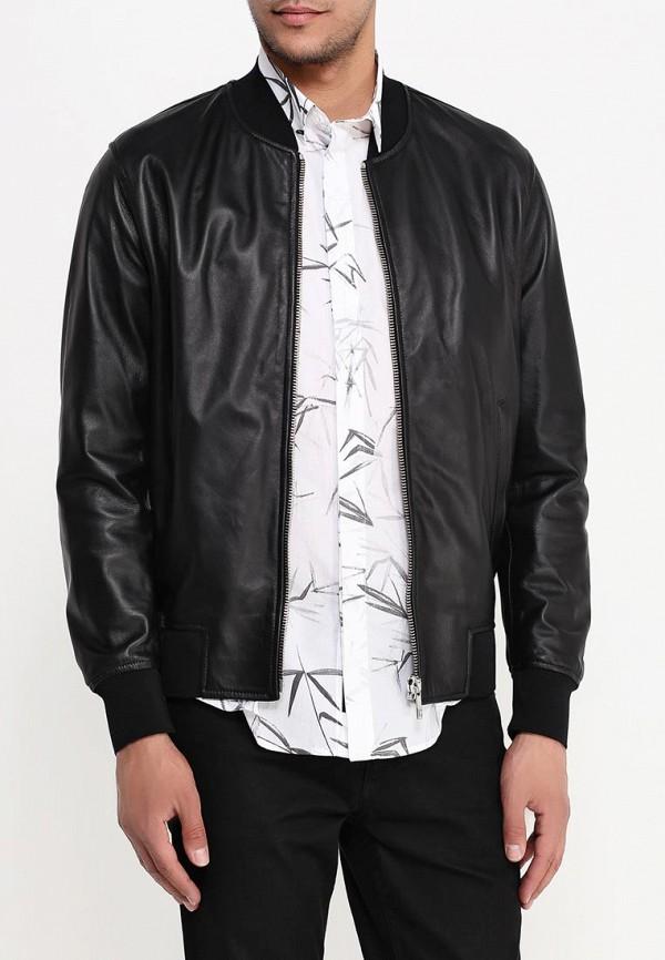 Кожаная куртка Bikkembergs C H 64B FD: изображение 4
