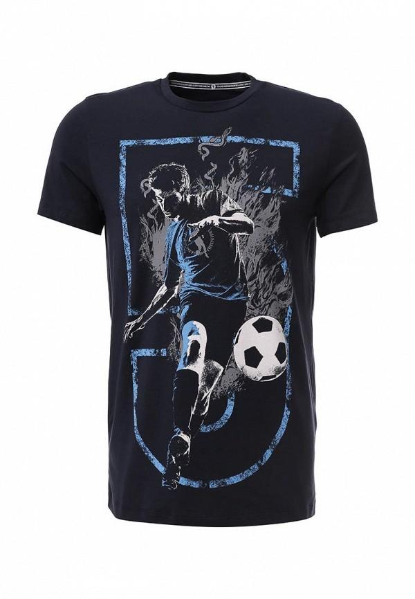 Футболка с фотопринтами Bikkembergs с738s