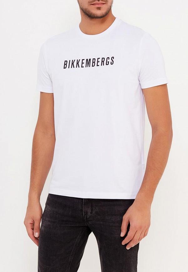 Футболка Bikkembergs Bikkembergs BI535EMVOI92 джинсы bikkembergs bikkembergs bi535emqav39