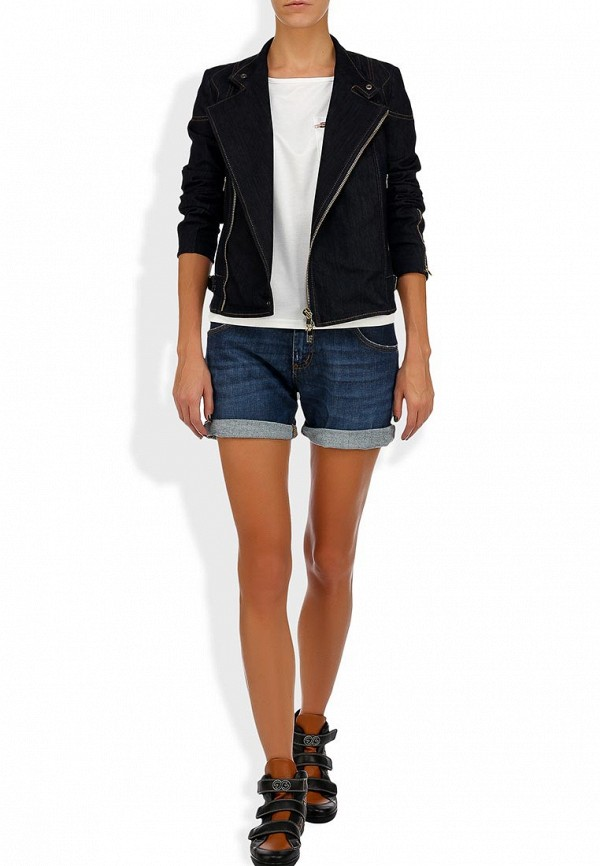 Женские джинсовые шорты Bikkembergs D1DW160DS04P555: изображение 10