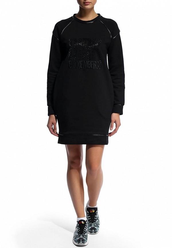 Платье-мини Bikkembergs D2DW4480237S999: изображение 3