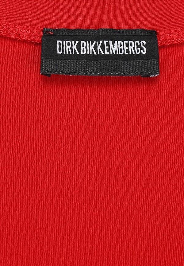 Футболка с надписями Bikkembergs D2DW7120909S365: изображение 2
