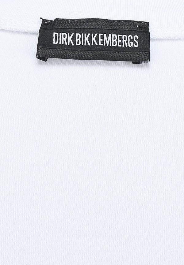 Футболка с надписями Bikkembergs D2DW7120909S800: изображение 2