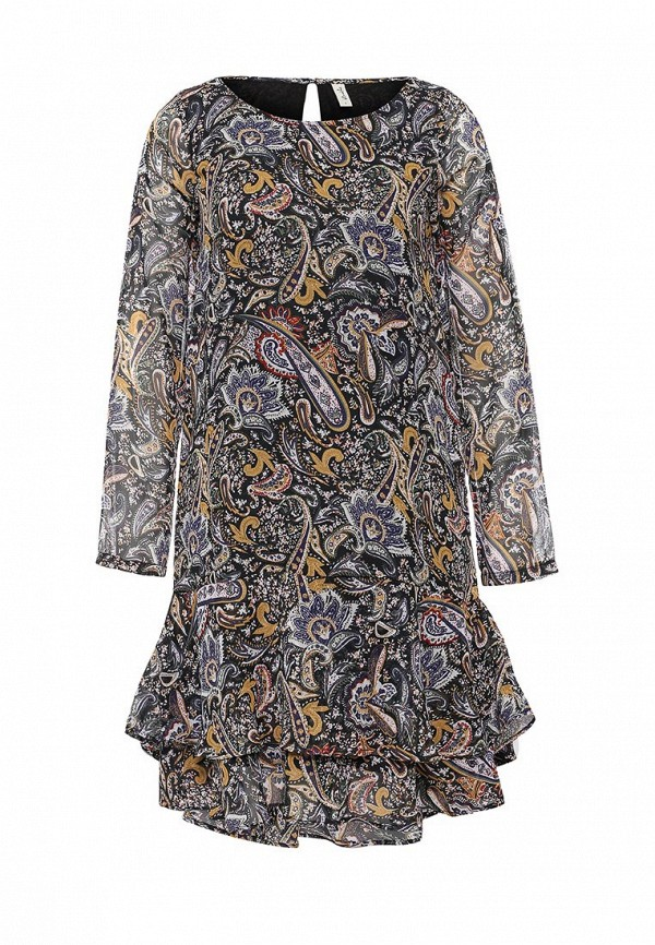 Платье-миди BlendShe 20200774: изображение 1