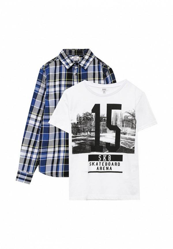 Фото Комплект рубашка и футболка Blukids. Купить с доставкой