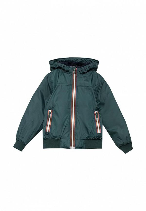 Куртка утепленная Blukids. Цвет: зеленый