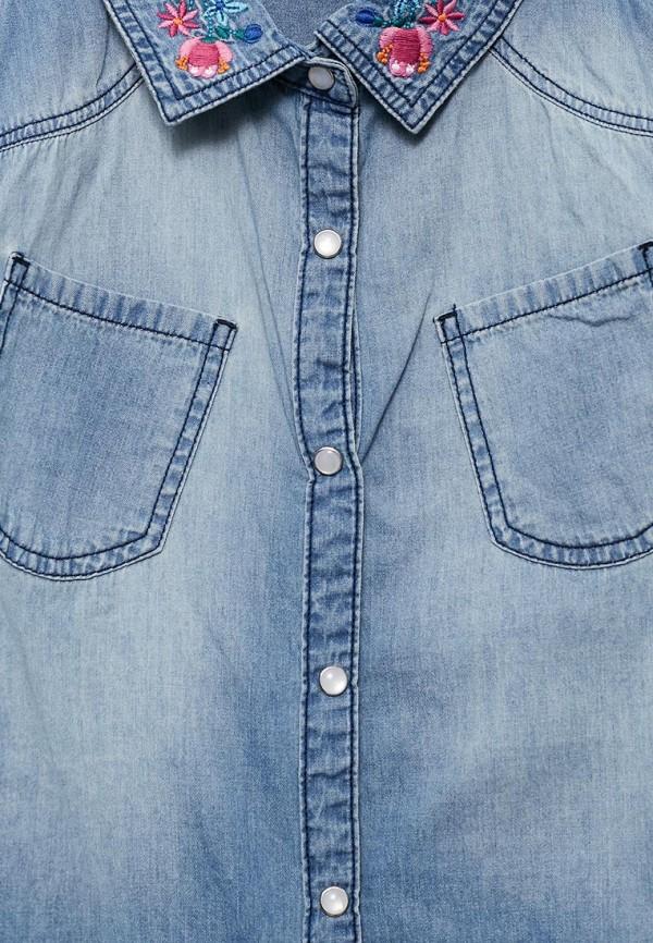 Рубашка джинсовая Blukids от Lamoda RU