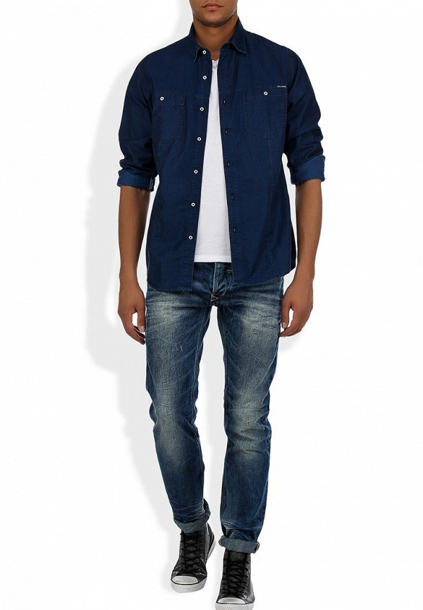 Зауженные джинсы Blend (Бленд) 700642: изображение 7