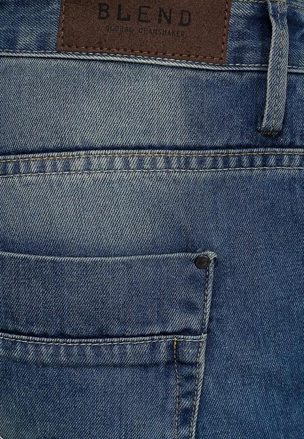 Мужские прямые джинсы Blend (Бленд) 701359: изображение 4